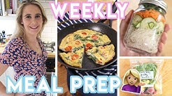 Meal Prep With Me 💜 Low FODMAP, gluten free, dairy free recipes | Becky Excell