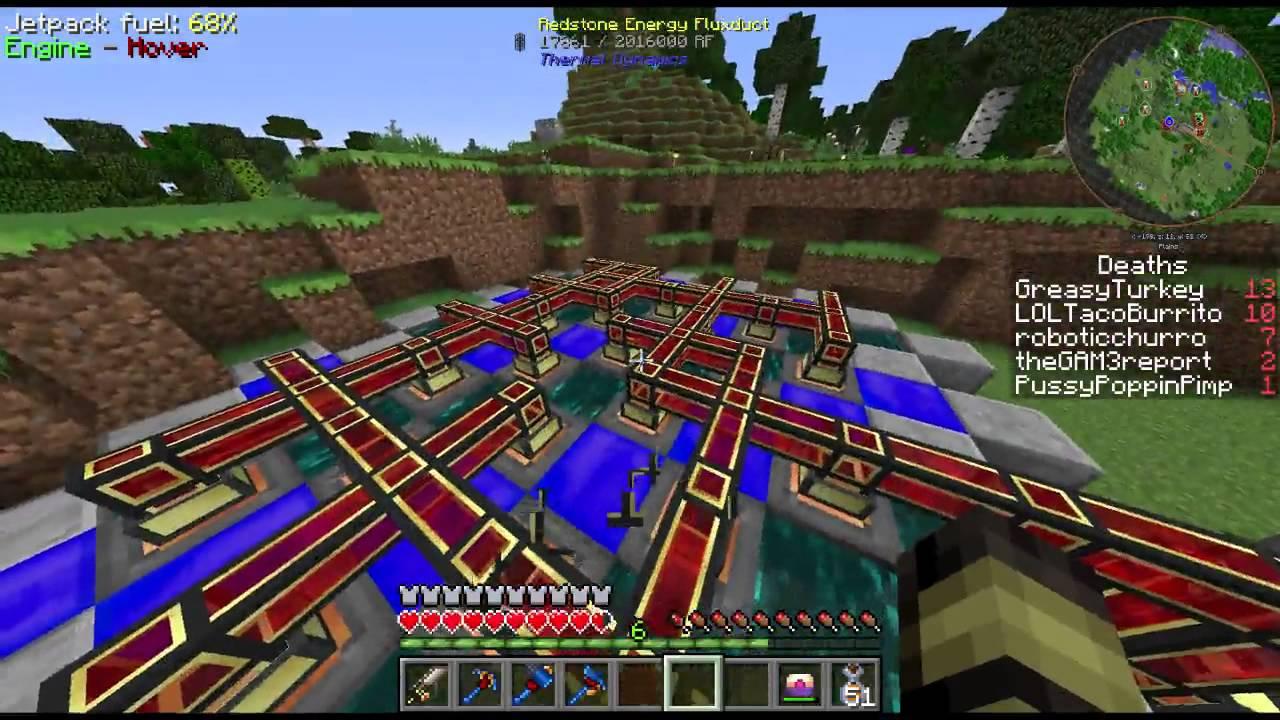 Minecraft: FTB Infinity Evolved Expert Mode 25 - CORE SAMPLE DRILL ...