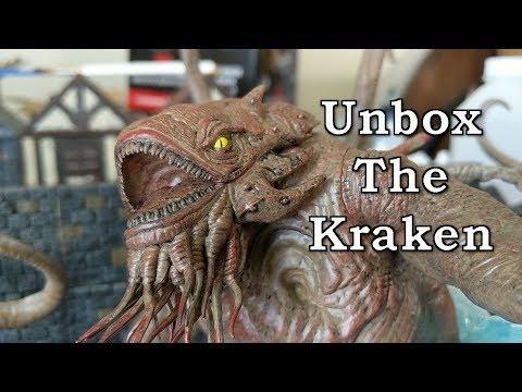 Monster Menagerie 3 Kraken Unboxing