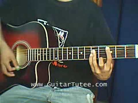 White Flag (of Dido, by www.GuitarTutee.com)