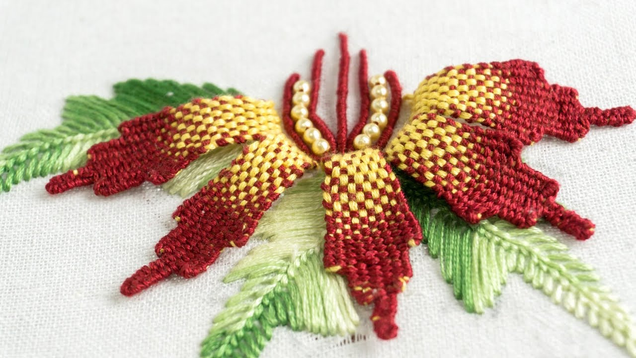 Embroidery Flower Diy Creative Design Ideas By Handiwork Youtube