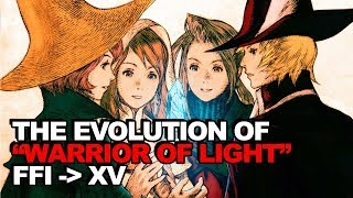 "The Complete Evolution of The ""Warrior of Light"" Story Arc (Final Fantasy I - XV)"