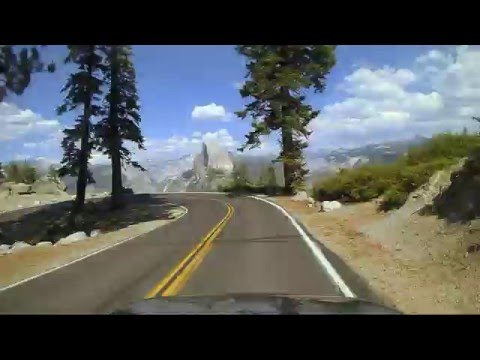 Yosemite Drive: Glacier Point to the Valley Floor