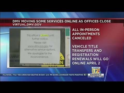 DMV Closes All Offices Friday Because Of Coronavirus; Online, Mail Services Still Available
