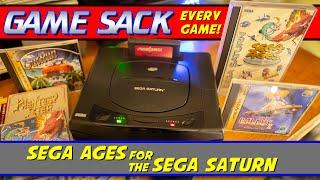 Sega Ages for the Sega Saturn  Game Sack