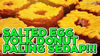 [ omaralattas ] vlog #99-2018: Salted Egg Yolk Donut Paling Sedap!