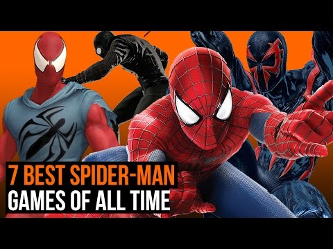 7 best Spider-Man games of all time
