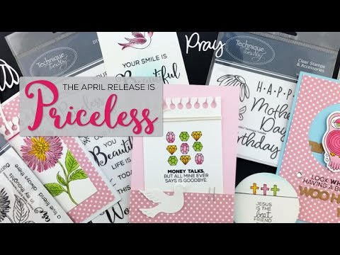 Priceless Themed Paper Crafting Supplies - Technique Tuesday