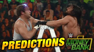 WWE MONEY IN THE BANK 2015 PREDICTIONS!