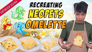 We Recreated Neopets Omelette! | Eatbook Cooks | EP 9