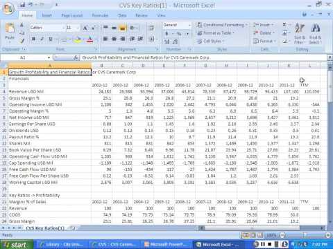 Library Calculate Industry Ratio Averages