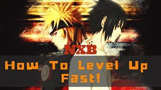 Naruto RPG Beyond How To Level Up Fast!!! (Roblox)