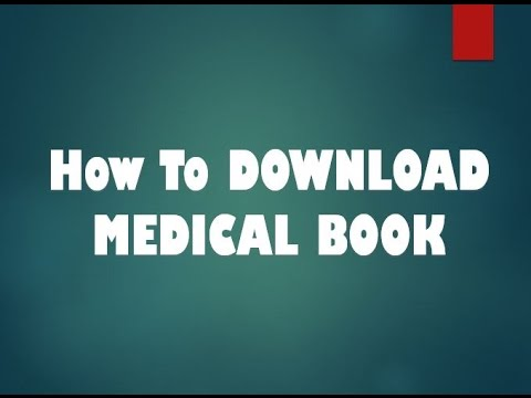 How To Download Medical Books Medical Book Free Free Medical