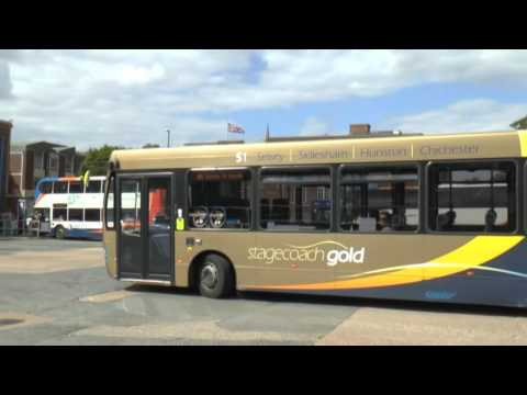BUSES IN CHICHESTER AUGUST 2016