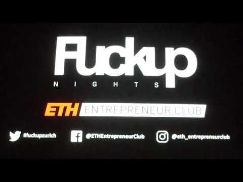 Fuckup Night Zurich 2018 ETH Entrepreneur Club full video