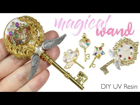 "Watch me UV Resin: How to DIY ""Magical Girl"" Wands Tutorial"