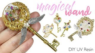"""Watch me UV Resin: How to DIY """"Magical Girl"""" Wands Tutorial"""