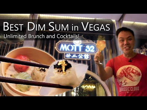 Best Dim Sum In Vegas | Endless Dishes And Cocktails | Mott32 @ The Venetian