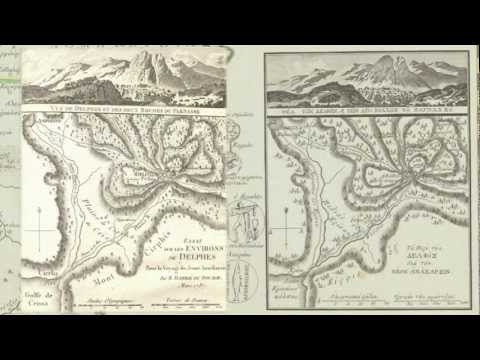 Harvard Map Collection: Going For Baroque - Greece Map