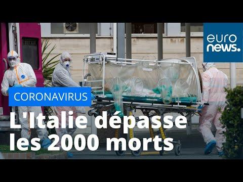 #Coronavirus L'Italie dépasse les 2 000 morts