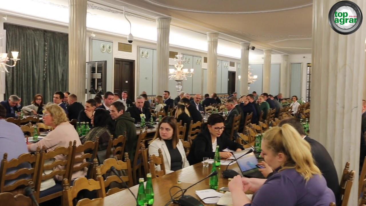 Sejmowa debata o problemach z inwestycjami w budynki inwentarskie – 7.02.2018 r.