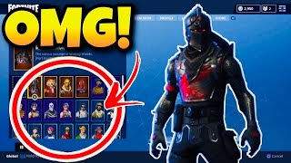 FORTNITE MY FORTNITE SKINS!!! (+ 80 SKINS??)
