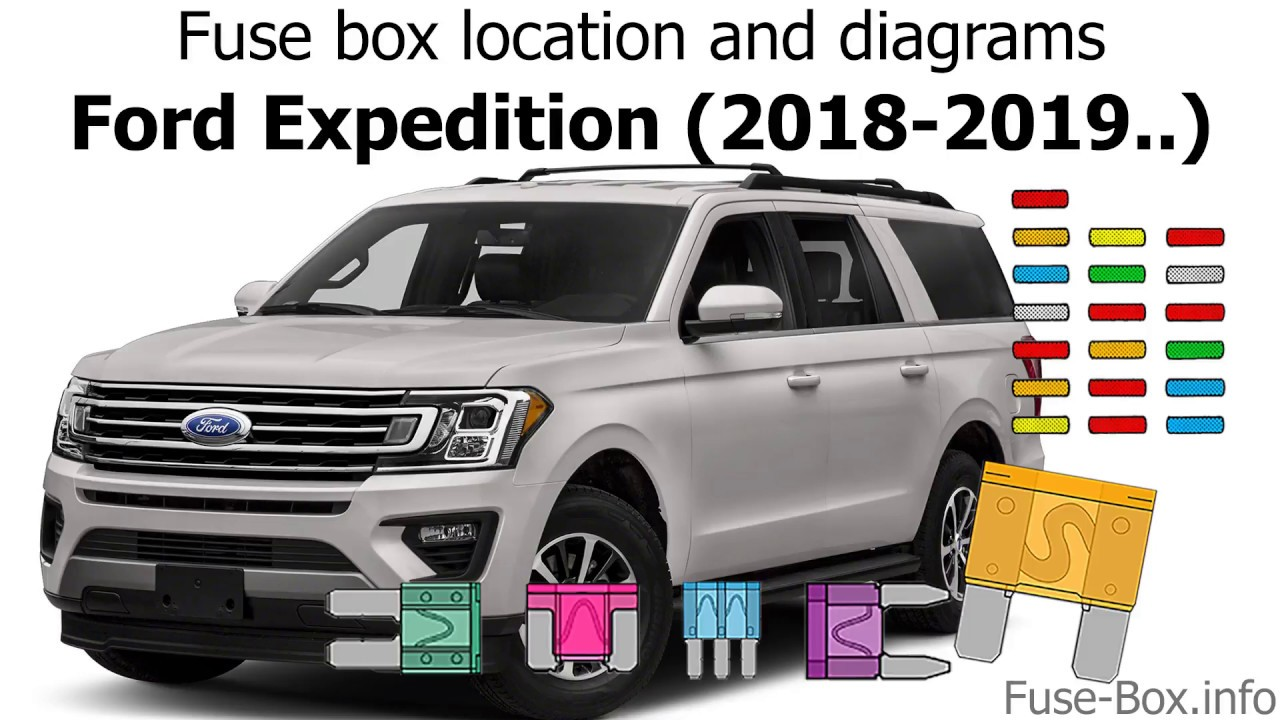 Fuse Box Location And Diagrams Ford Expedition 2018 2019 Youtube