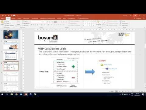 Planning   MRP, forecasting, minimum inventory, dates