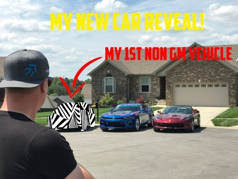 My New car reveal. Nobody saw this coming, not even me.