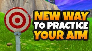 How to get Better at Fortnite | New Way to Practice your Aim