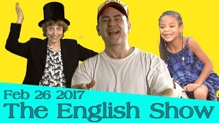 Grow your story telling skills in English at the English Show