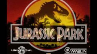 Repeat youtube video Jurassic Park SNES Score - Jungle (Raptor Rap)