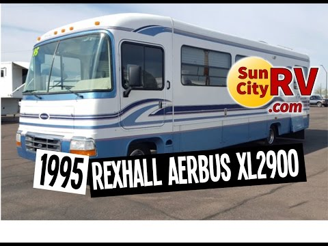 Rexhall Aerbus XL2900 1995 RV For Sale | Sun City RV | Phoenix - YouTube