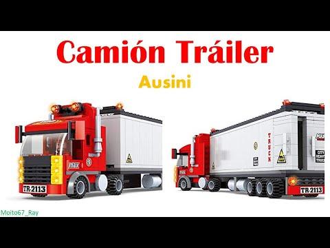 Camión Tráiler 281 piezas, Ausini 25609 (Colorbaby 42222)