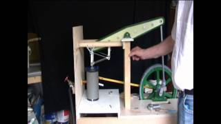 Beam Engine Model From Shed Engineering. Part 1