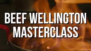 Gordon Ramsay Beef Wellington Masterclass with Rip Hamilton & Cedric Maxwell