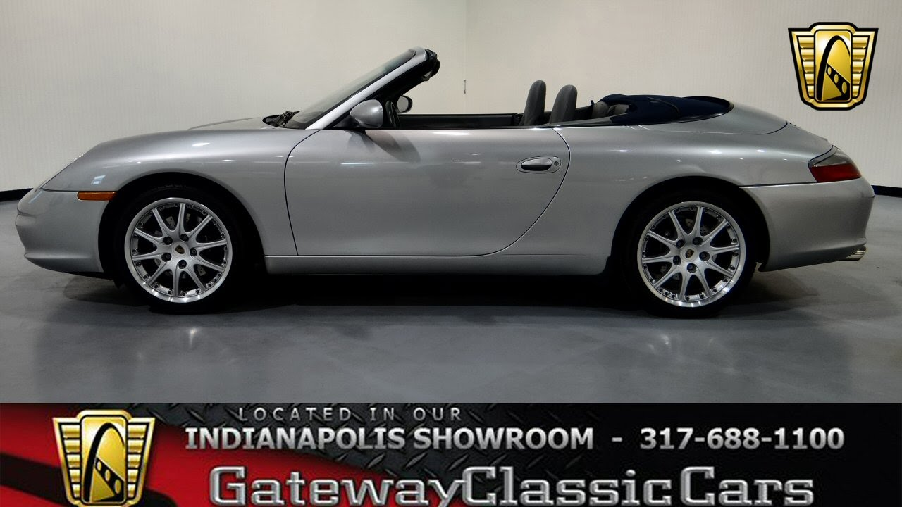 2002 Porsche 911 Carrera Cabriolet Gateway Classic Cars Indianapolis 264 Ndy Youtube