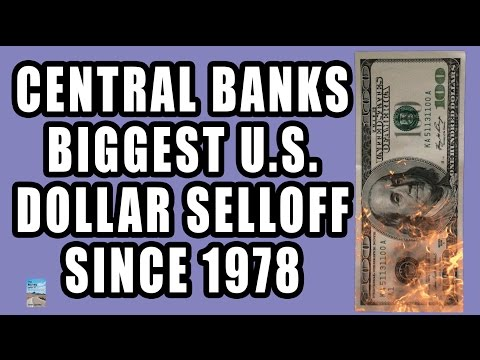 Central Banks Sell U.S. Dollar at Fastest Pace Since 1978! This is What They're Buying