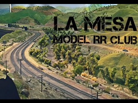AMERICA'S LARGEST BNSF/UP MODEL RR – Layout Tour: The La Mesa Model RR Club