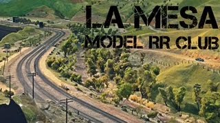 AMERICA'S LARGEST BNSF/UP MODEL RR - Layout Tour: The La Mesa Model RR Club