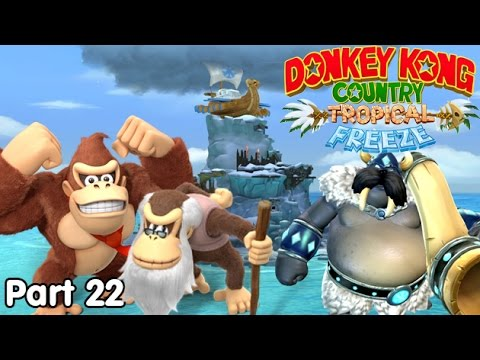 Slim Plays DKC: Tropical Freeze - #22. The Big Bad Snowmad!
