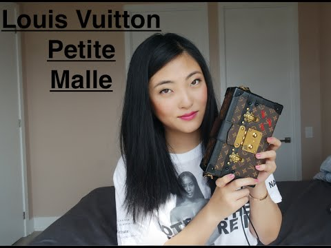louis vuitton petite malle review youtube. Black Bedroom Furniture Sets. Home Design Ideas