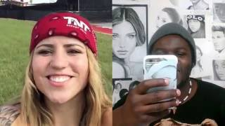 Skype X Games Austin 2016 - Leticia Bufoni chats with a fan over Skype