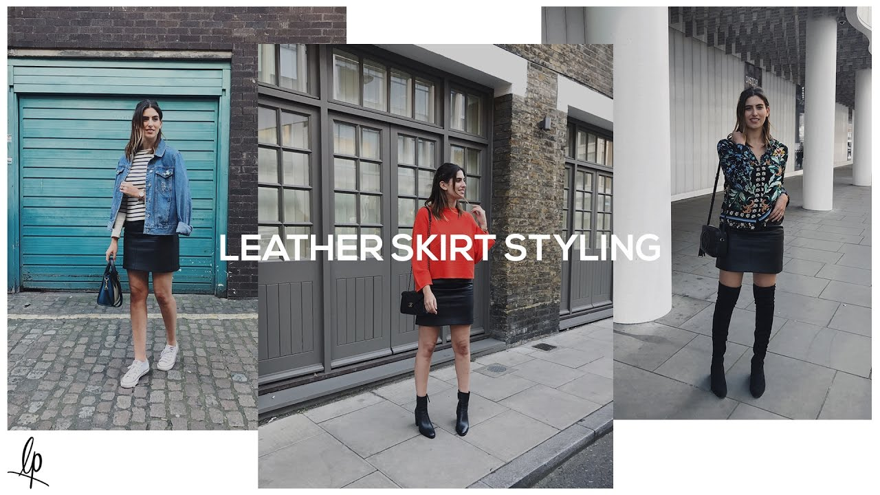 894eecd330f HOW TO STYLE A LEATHER SKIRT | Lily Pebbles