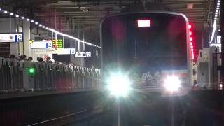 【ホームドア設置後初】東武川越まつり号(51093F) 川越駅 2018.10/21
