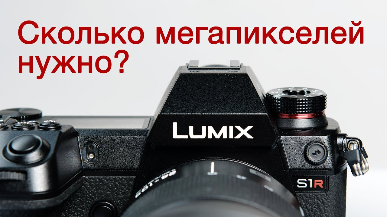 Panasonic S1R: сколько нужно мегапикселей? Большой тест