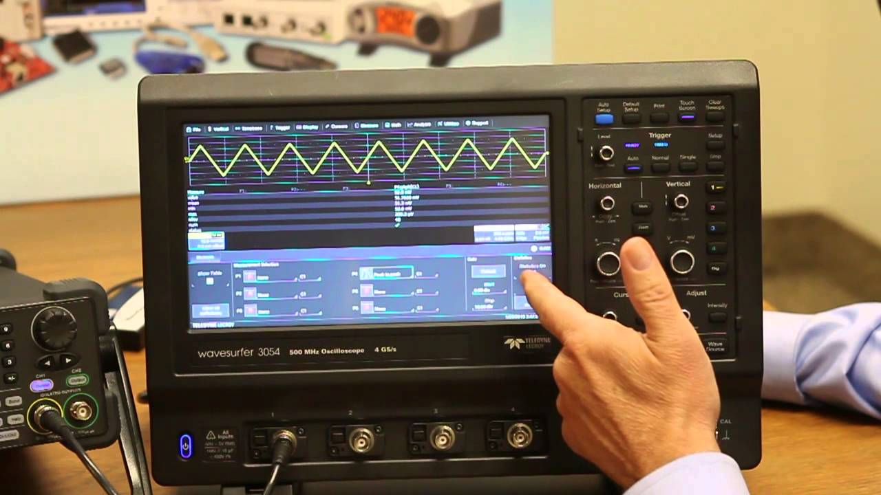 Teledyne LeCroy WaveSurfer 3000 Touch Oscilloscope Windows 8 X64 Driver Download