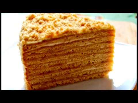 Торта медовик рецепт