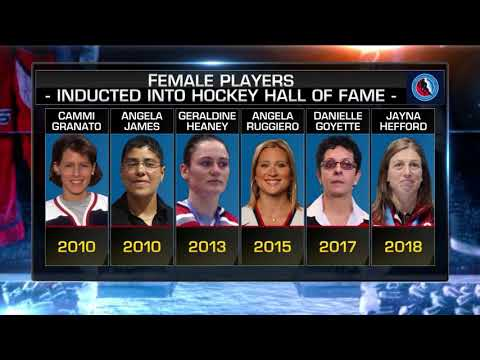 NHL Now: Hefford on induction:  Jayna Hefford on being inducted into the HHOF  Jun 27,  2018