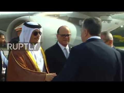 Tunisia: Egypt's Sisi and Qatari Emir arrive for Arab League Summit